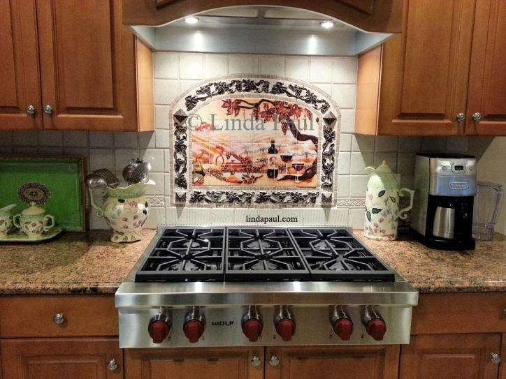 Gorgeous Mosaic Kitchen Backsplash Subway Tiles Ideas  788