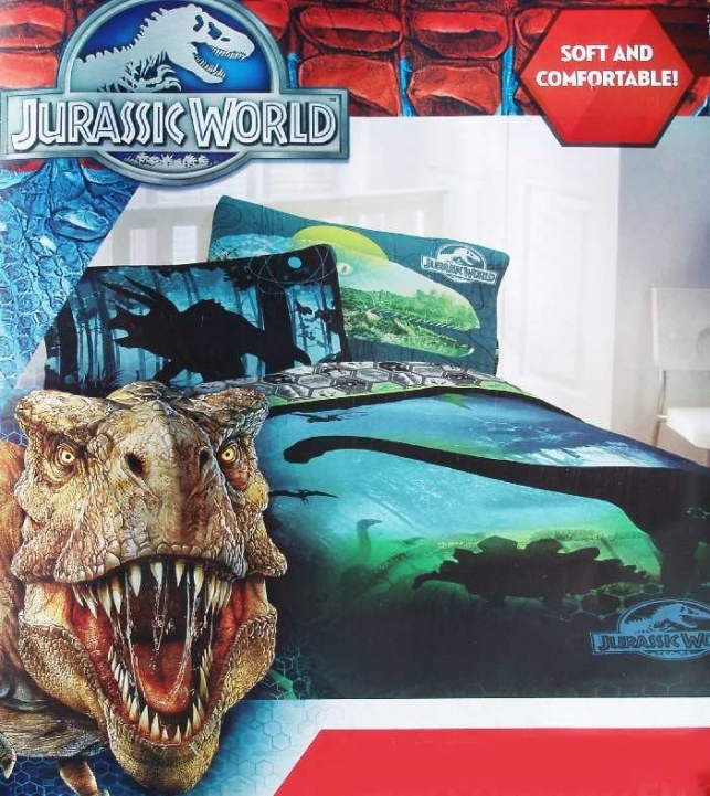 Jurassic World Bedding Dinosaurs Twin Comforter Sheets Pic 957