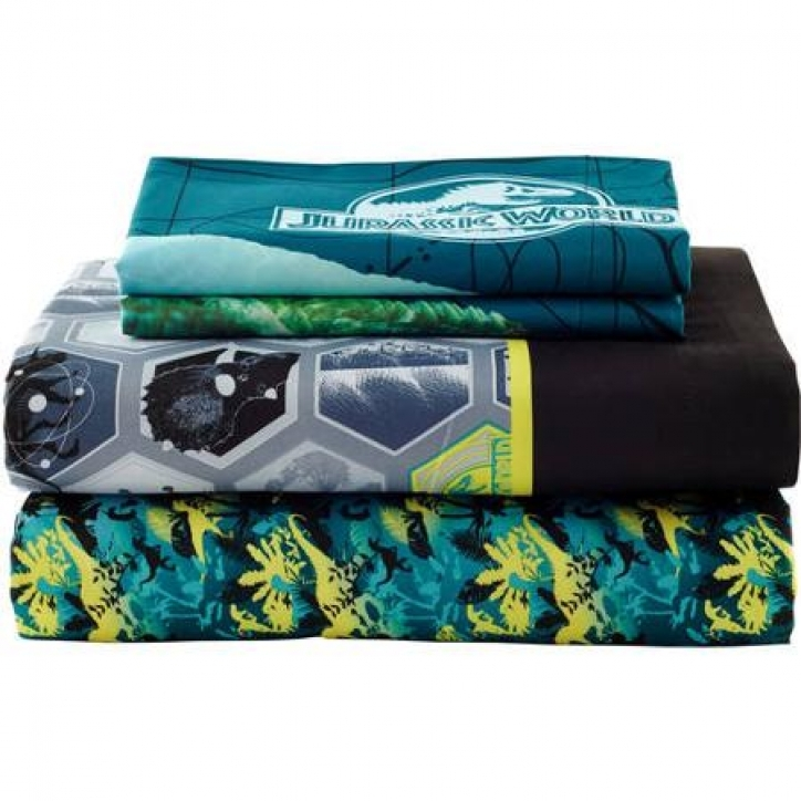 Jurassic World Bedding Sheet Set Pics 137