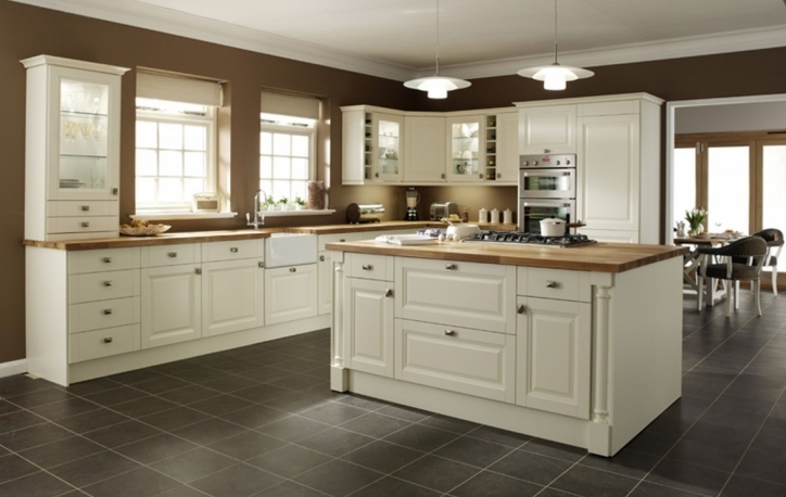 Kitchen Flooring Ideas With Marvelous Ikea Small Kitchen Design With White Cabinets Pics667