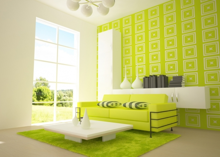 Living Room Paint Ideas With Stunning Modern Paint Colors Ligth Green And Fresh Decoration 759