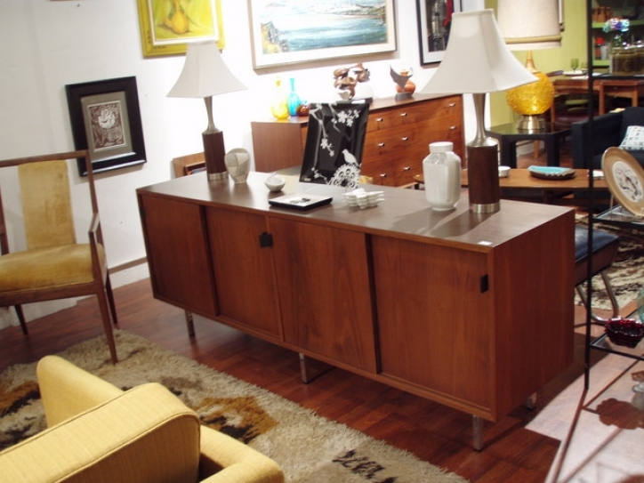 Mid Century Modern Credenza Regarding Brilliant Storage Furniture Space Decor Pic 375