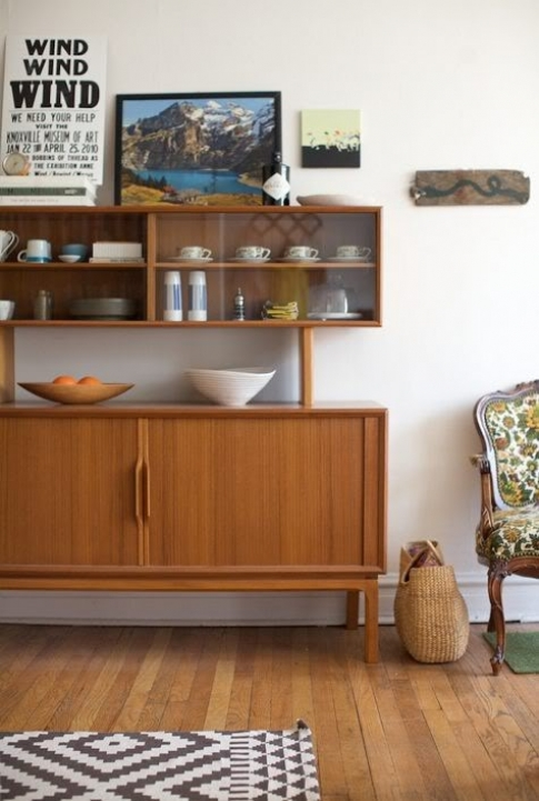 Mid Century Modern Credenza Within Classy Tattooed Housewife Mid Century Monday Credenzas Images 388