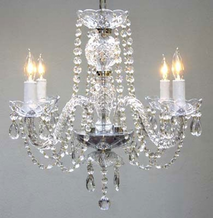 Mini Crystal Chandeliers For Bathroom Gorgeous Girly Ideas Design 496
