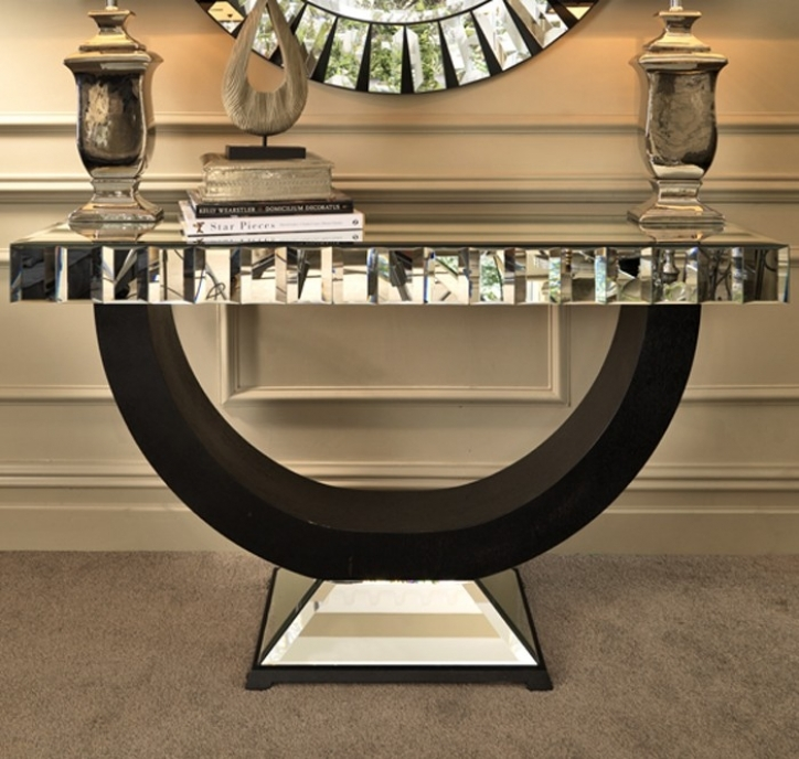 Mirrored Console Table With Marvelous Mirror Console Table To Add Beautiful Sense 934