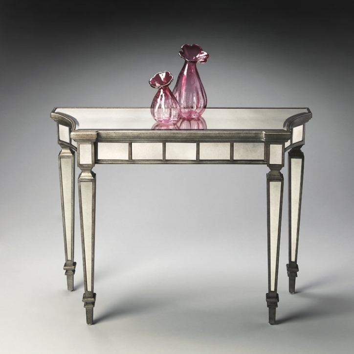Mirrored Console Table With Wonderful Masterpiece Collection 101