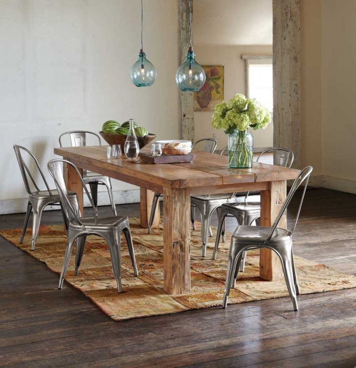 Rustic Dining Room Sets Within Awesome Modern Rustic Dining Room Sets Contemporary Ideas Images 403