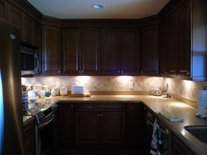 Under Cabinet Lighting Ideas Regarding Outstanding Led Hardwired Pictures 027
