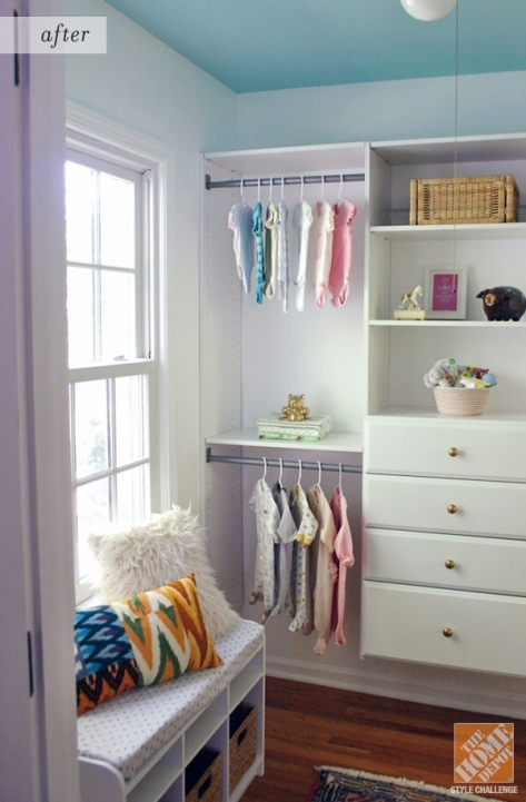 Under Window Storage Closet Organization Ideas For A Nursery Home Decor Style 763