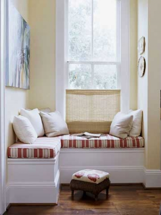 Under Window Storage Seat Decorating Ideas 180