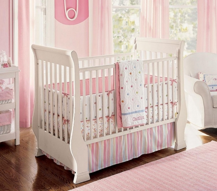 Baby Girl Nursery Themes Paint Colors Minimalist Design Pics