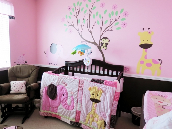 Baby Girl Nursery Themes Pink Decorating Ideas Photo