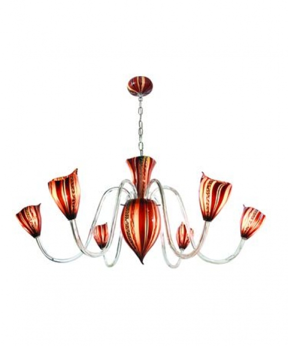 Brilliant Italian Chandeliers Style Pendant Lights Tiffany Style Lamp Photo
