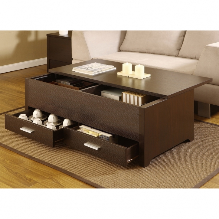 Contemporary Coffee Tables With Storage Furniture America Knox Dark Espresso Design Photo