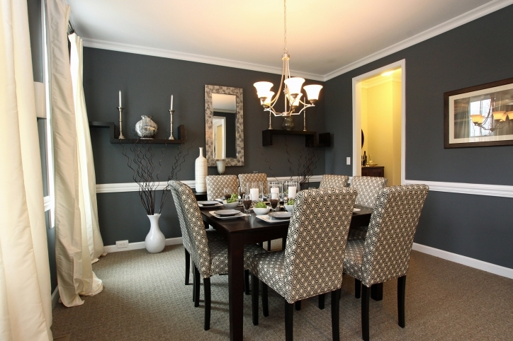 Dining Room Paint Colors Black Wall Decor Photo