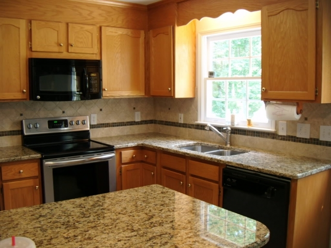 Fantastic Santa Cecilia Light Granite Kitchen Countertops Color Home Ideas Images