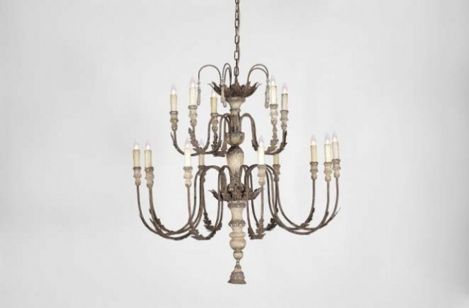 Fascinating Italian Chandeliers Style Antique Picture