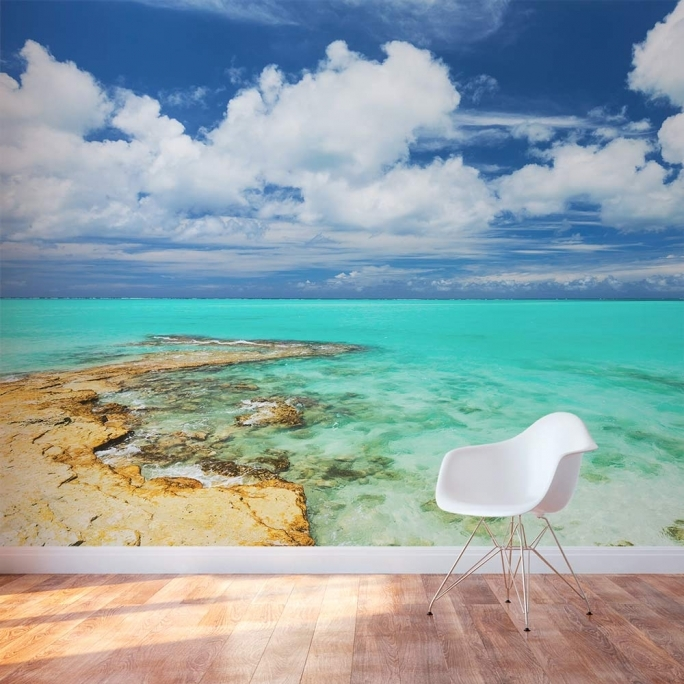 Incredible Removable Wall Murals Turks And Caicos Islands Mural  Picture