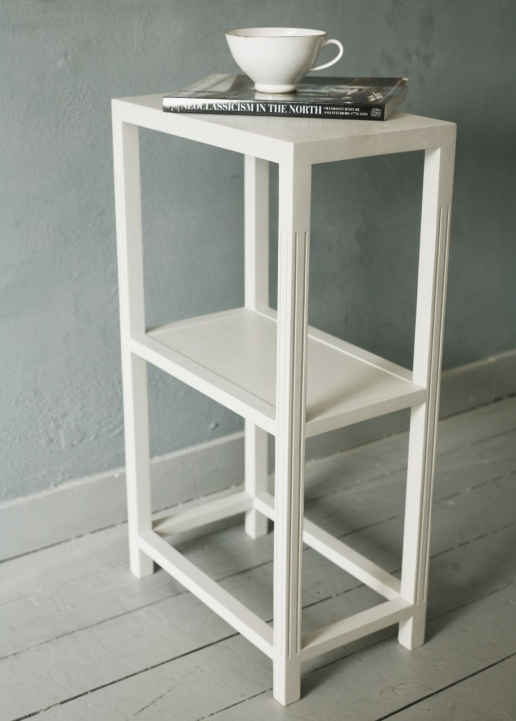 Narrow Bedside Table Very Small White Ideas Photo