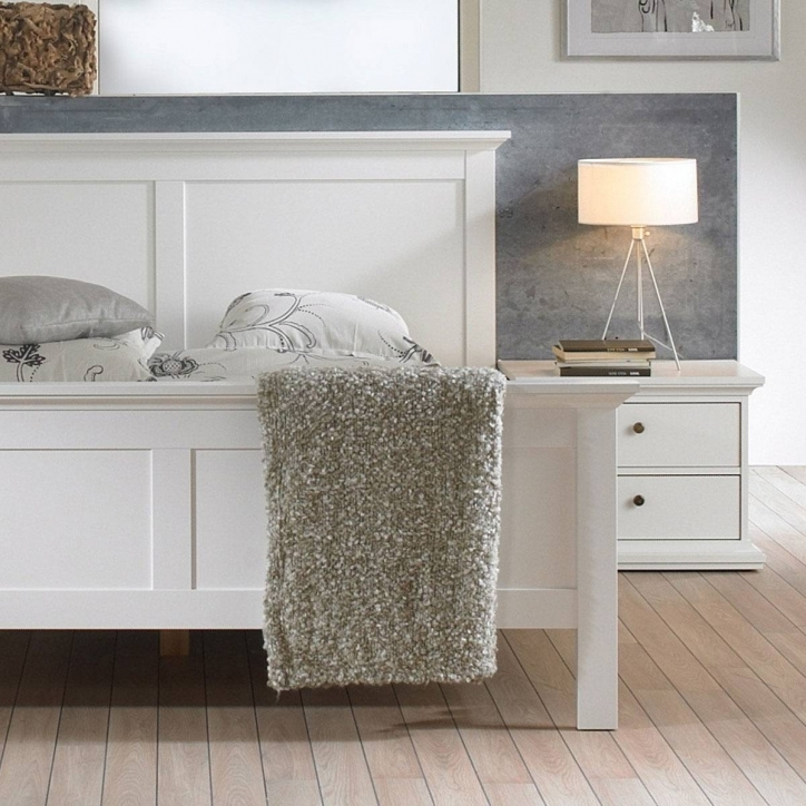Narrow Bedside Table White Colors Ideas For Elegant Bedroom Decor Pics