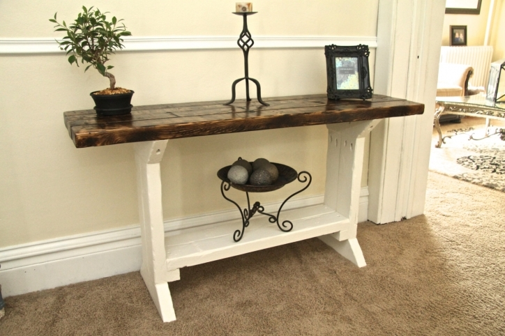 Narrow Hall Table Furniture For Beautiful Home Decor Ideas Pic