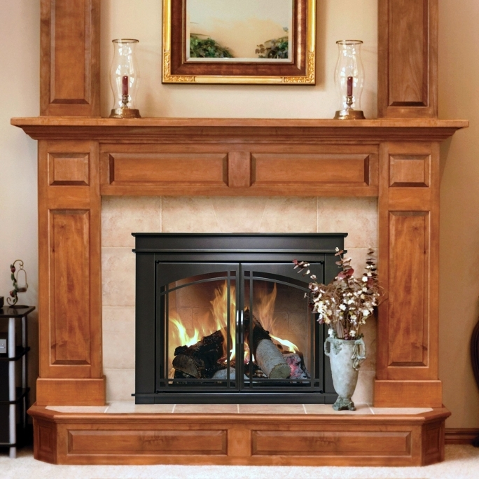 Pleasant Hearth Fireplace Doors Screen Doors