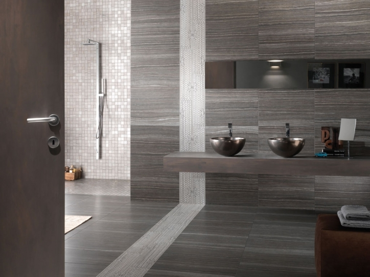 Porcelain Bathroom Tiles Eramosa Wood Tile Collection Photo