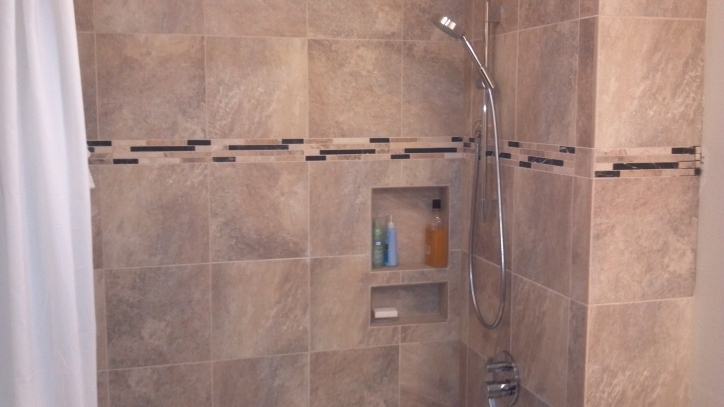 Porcelain Bathroom Tiles Guest Bath Remodel Colorado Ft Collins Pictures