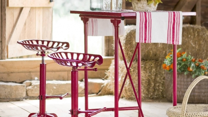 Tractor Seat Bar Stools For Vintage Bar Table Pictures