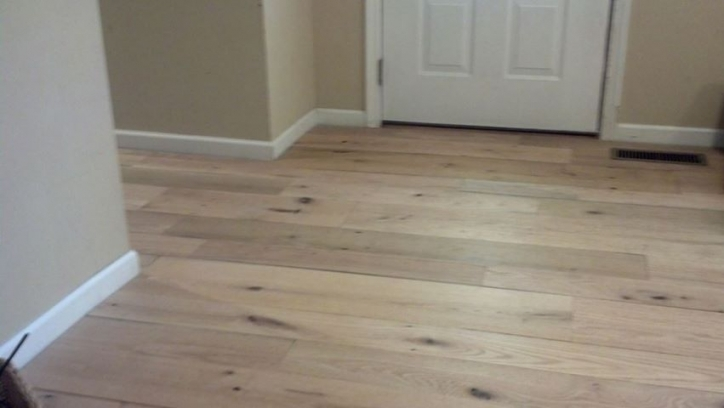 Unfinished Hardwood Flooring Idea Pic