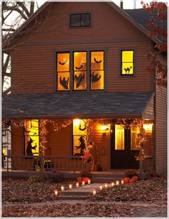 Wonderful Halloween Decoration Ideas For Party Scary  Decorating Ideas Home Lighting Decor Image