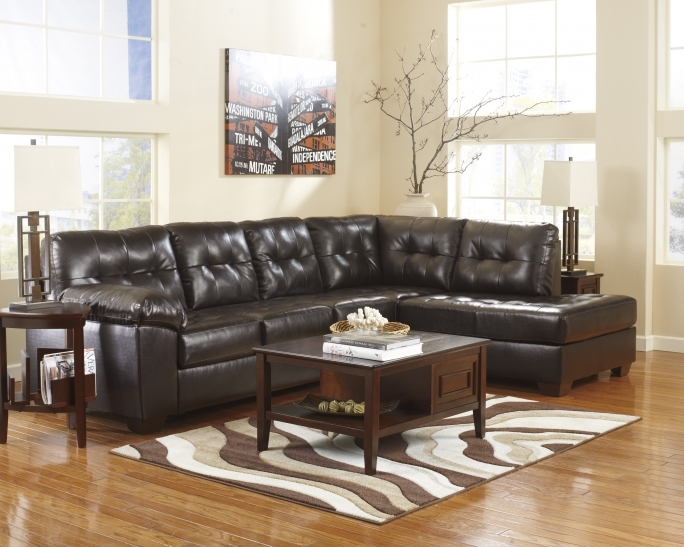 Ashley Furniture Sectional Sofas With Coffee Table And Wall Art Photo