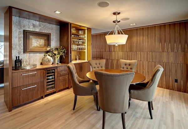 Brown Leather Dining Chair Design Ideas