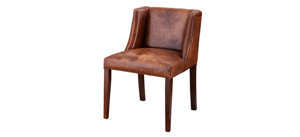 Brown Leather Dining Chairs London Picture