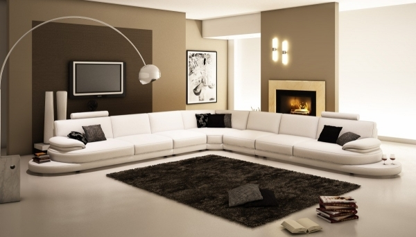 Contemporary Leather Sofa|Contemporary Leather Sofa|Contemporary Leather Sofas|Modern Leather Sofas| Stylish Design For Large Living Room Space 40