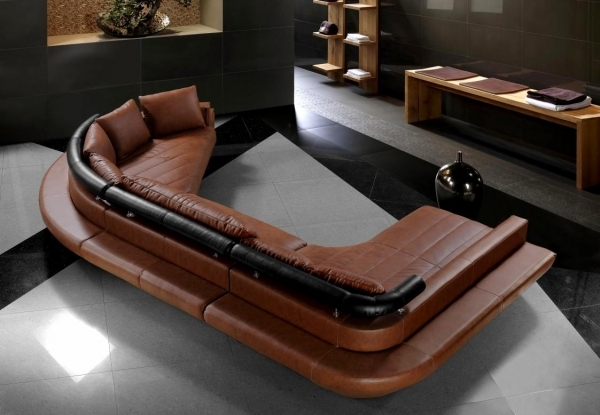 Contemporary Leather Sofa|Contemporary Leather Sofa|Contemporary Leather Sofas|Modern Leather Sofas| With Brown Leather Sofa Color Unique Design Ideas 89