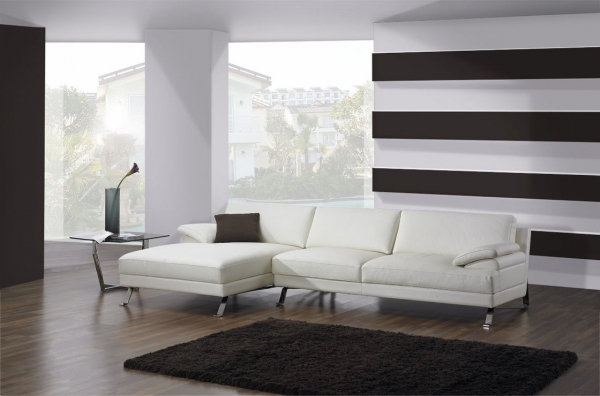 Contemporary Leather Sofa Design Ideas