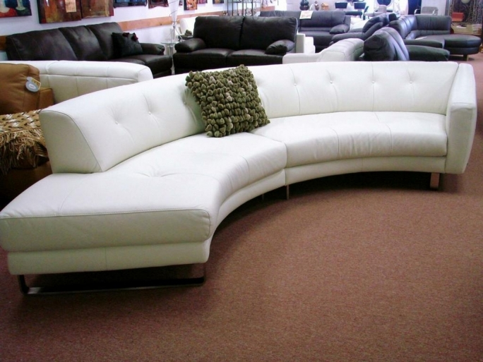 Natuzzi Leather Sectional Sofa Contemporary White Ideas Pic