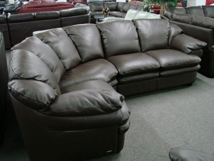 Natuzzi Leather Sofa Black Natuzzi Editions A845 Pictures