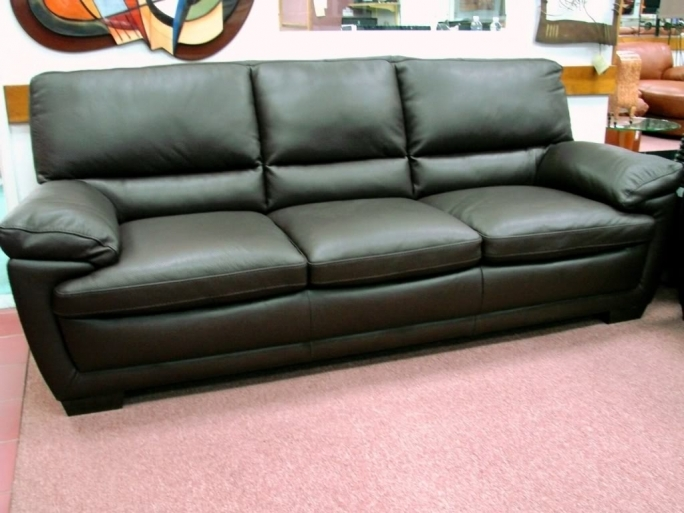 Natuzzi Leather Sofa Natuzzi Editions B674 Black Leather Pic