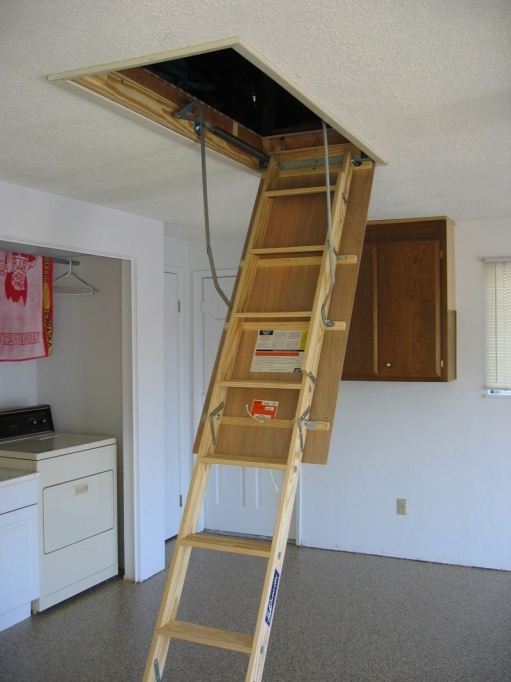 Pull Down Attic Stairs Insulation Door Photo