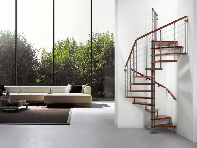 Spiral Staircase Dimensions Fontanot Genius Spiral Stairs Decorate With Elegance Pictures