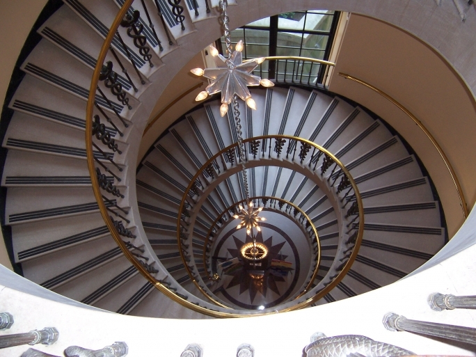 Spiral Staircase Dimensions Free Encyclopedia From Wikimedia Pic