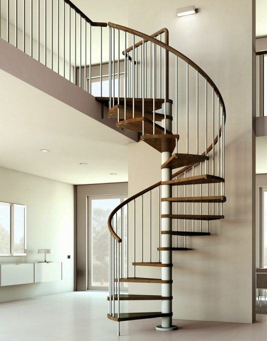 Spiral Staircase Dimensions Plan Basement Photos