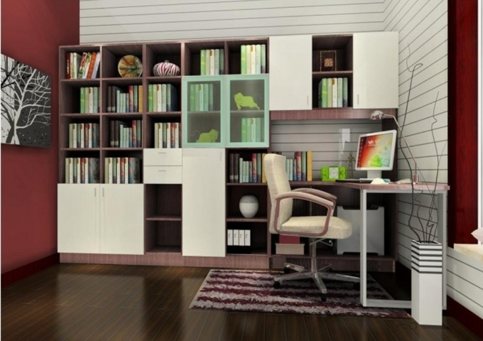 Bookshelf Decorating Ideas Built In Bookshelves Study Room Pics