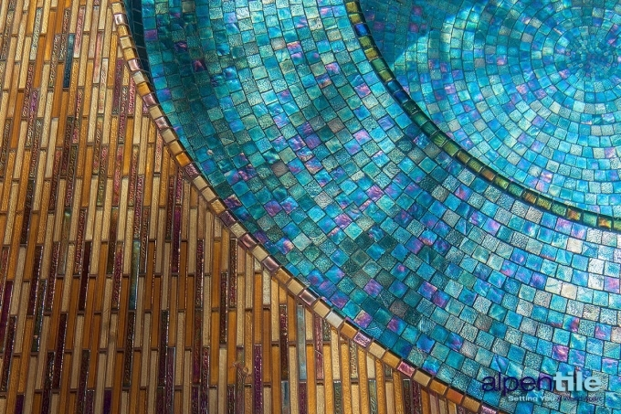 Oceanside Glass Tile Blend Photo