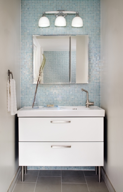 Oceanside Glass Tile For Bathroom With Blue Ideas Los Angeles Picture
