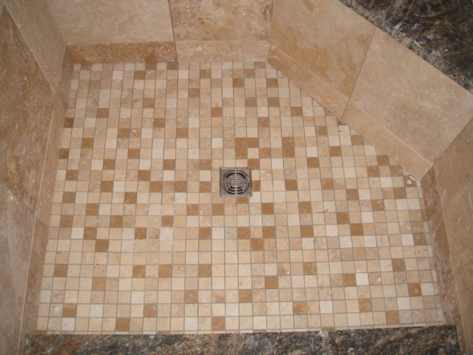Oceanside Glass Tile Schluter Kerdi Shower System Image