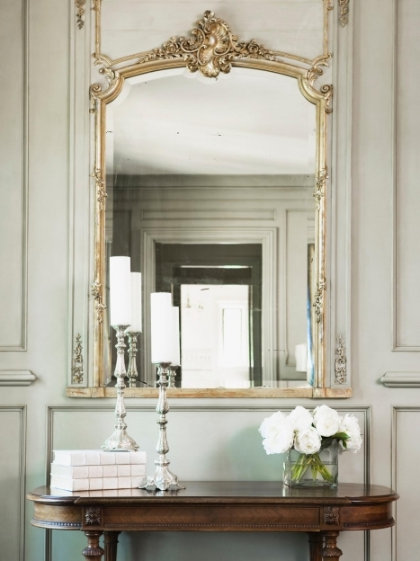 Mirrored Hallway Furniture Photos Hgtv Picture