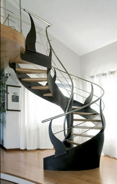 Spiral Staircase Kits Space Saving Stairs Home Ideas Pictures